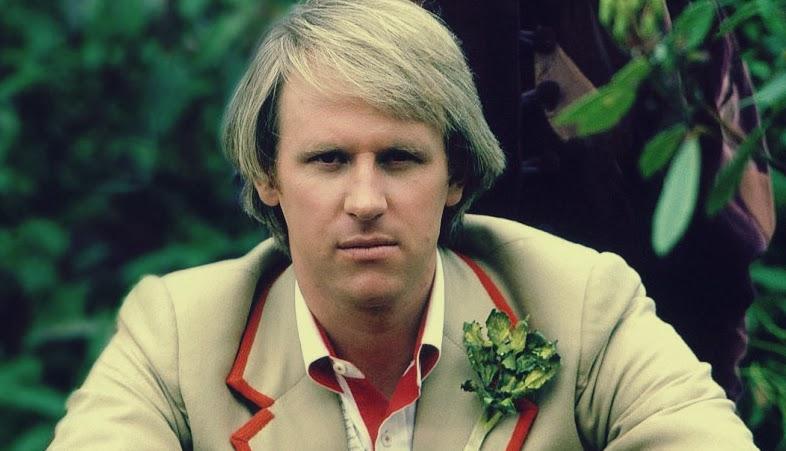 Peter Davison e o ramo de aipo