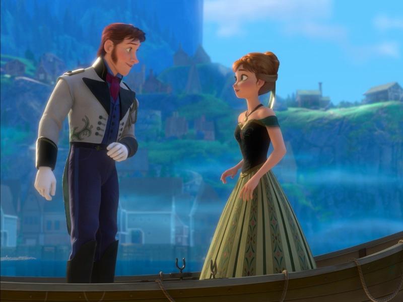 Frozen Hans e Ana