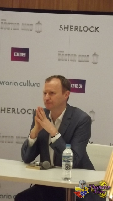 Mark Gatiss Coletiva