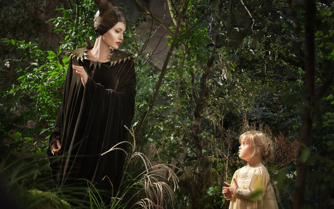 Angelina e filha