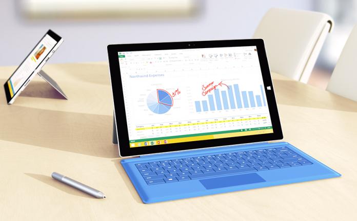 Com foco em produtividade, Microsoft lança o Surface Pro 3 1