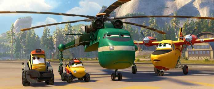 Novo trailer dublado de 'Aviões 2 – Heróis do Fogo ao Resgate' 1