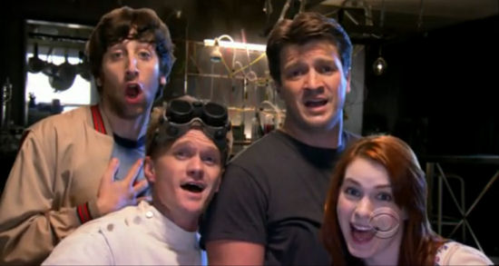 Dr. Horrible's Sing-Along Blog elenco