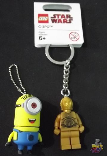 Review: Pen Drive Darwin e Chaveiro C-3PO 1