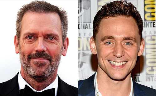 Hugh Laurie e Tom Hiddleston