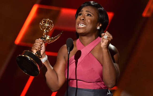 Uzo Aduba Emmy 2015