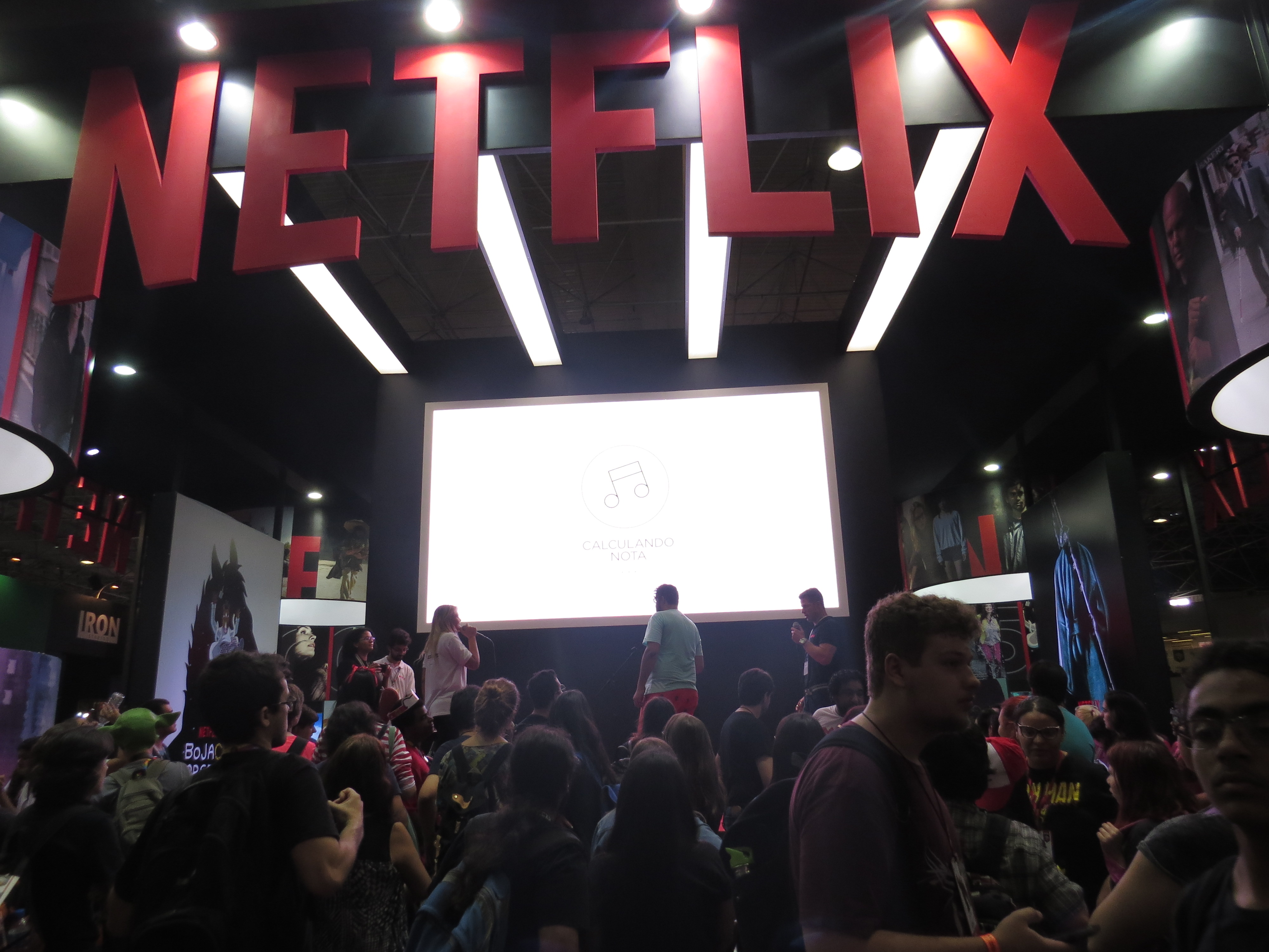 Palco Netflix