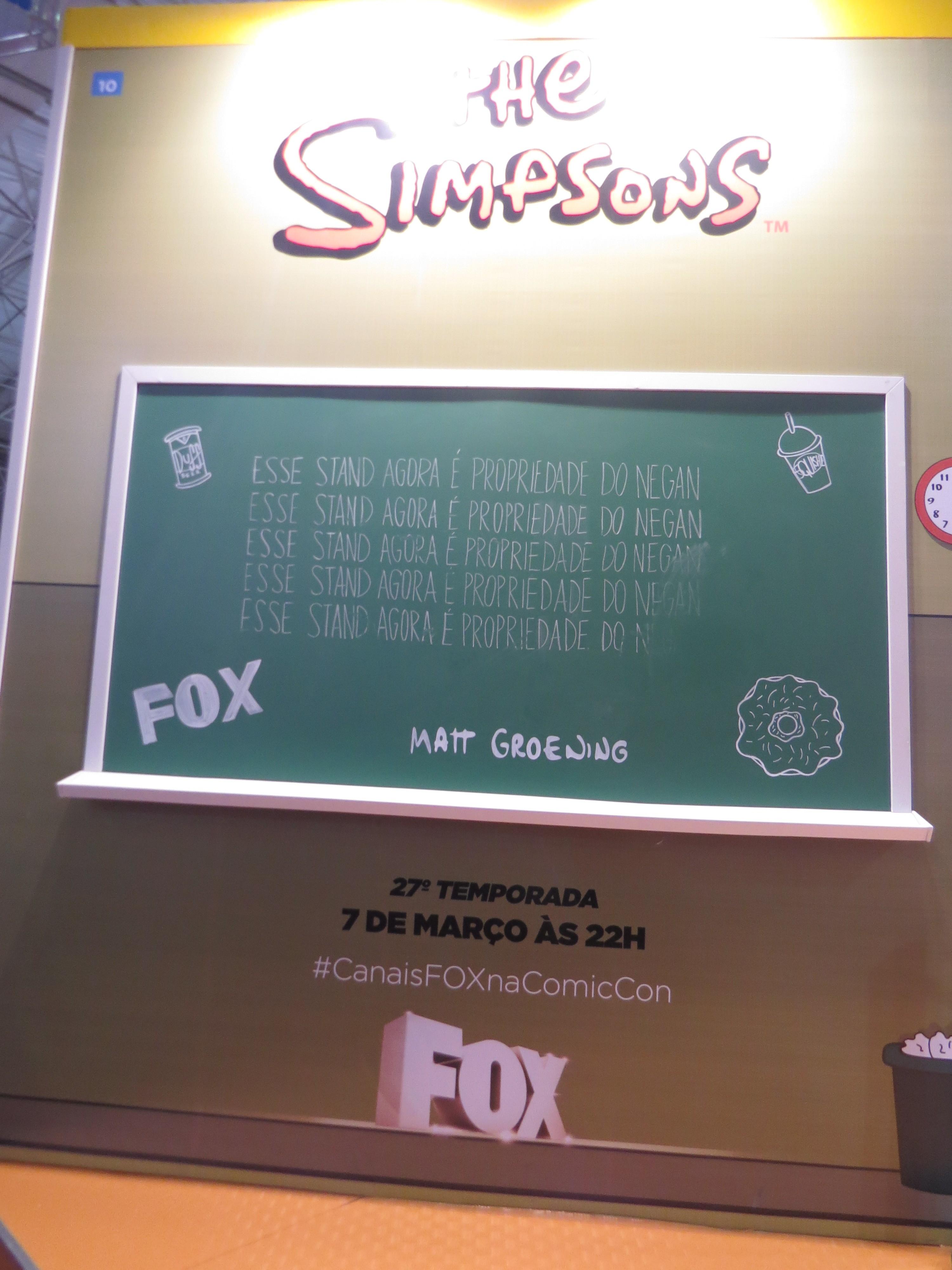 Simpsons Fox