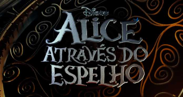 Alice Através do Espelho trailer