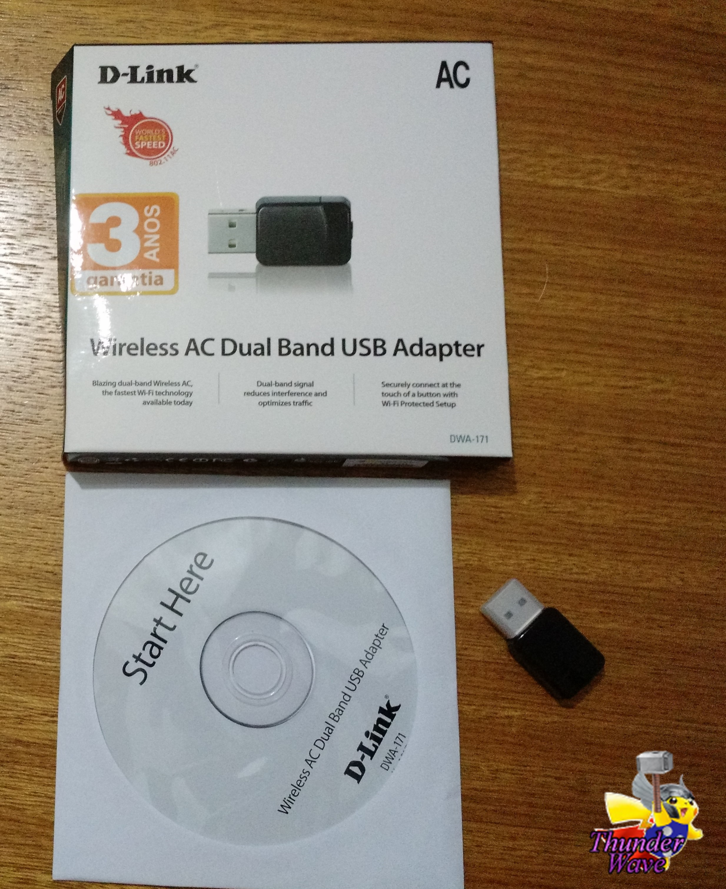 Review Adaptador DWA-171