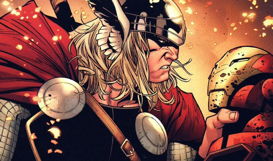 Thor renascer dos deuses