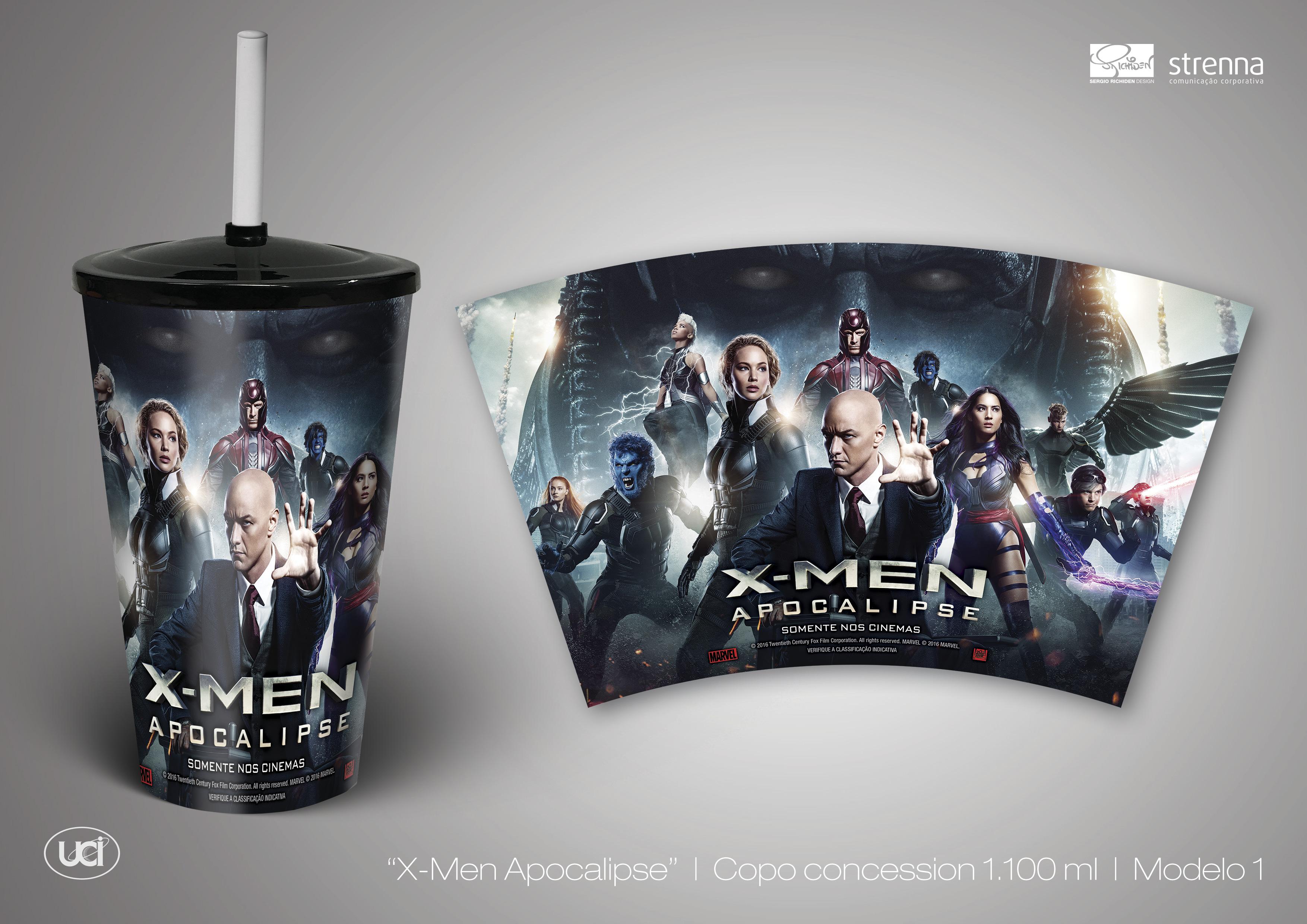 Combo X-Men Apocalipse