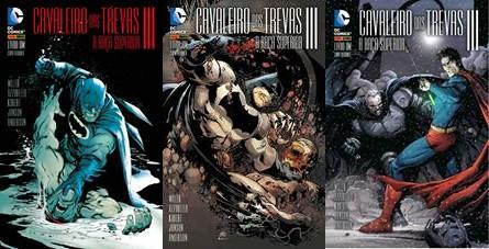 Imagens: capas variantes de Rafael Albuquerque, Ivan Reis e Gary Frank