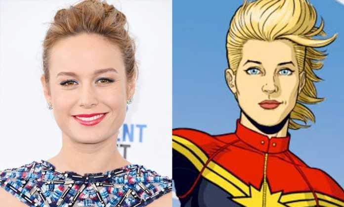 Brie Larson é confirmada como 'Capitã Marvel' 1