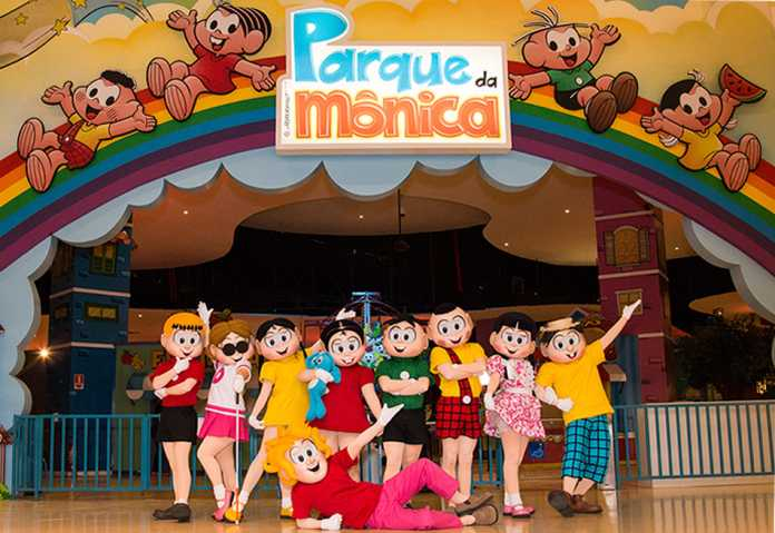 Especial um ano de Parque da Mônica 1