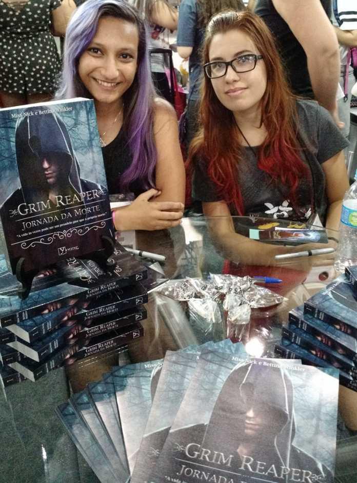 """Entrevista: Miss Nick e Bettina Winkler- Autoras de """"Grim Reaper-Jornada da Morte"""" 1"""