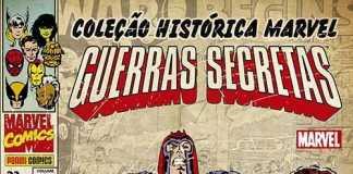 Resenha Coleção Histórica Marvel- Guerras Secretas #1