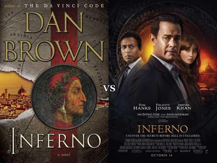 Compativo Filme vs Livro: Inferno 1