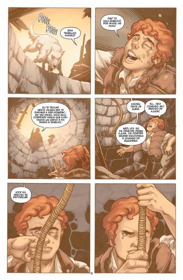 Lex Luthor O Poder Ômega
