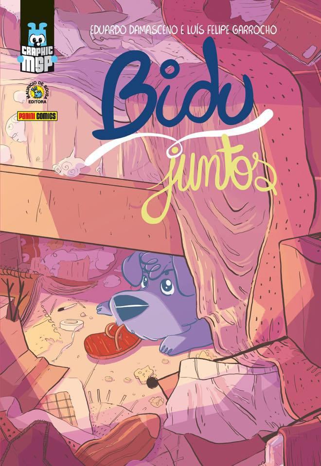 Bidu-Juntos: Novo Título da Graphic MSP irá mostrar a amizade entre Bidu e Franjinha 12
