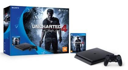 Playstation 4: Versão mais fina e com Bundle de Uncharted 4 chega ao Brasil 1