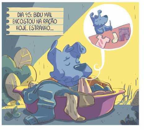 Bidu-Juntos: Novo Título da Graphic MSP irá mostrar a amizade entre Bidu e Franjinha 9