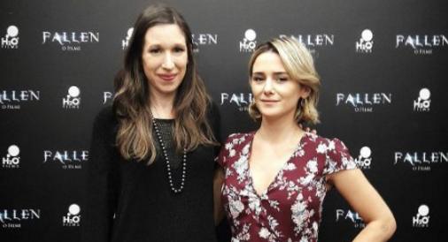 Lauren Kate e Addison Timlin falam sobre força feminina e poder do amor em coletiva de Fallen 1