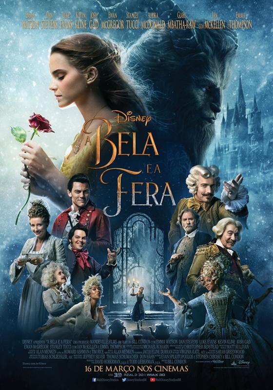 A Bela e a Fera: Filme bate recorde de abertura do cinema brasileiro em 2017 1