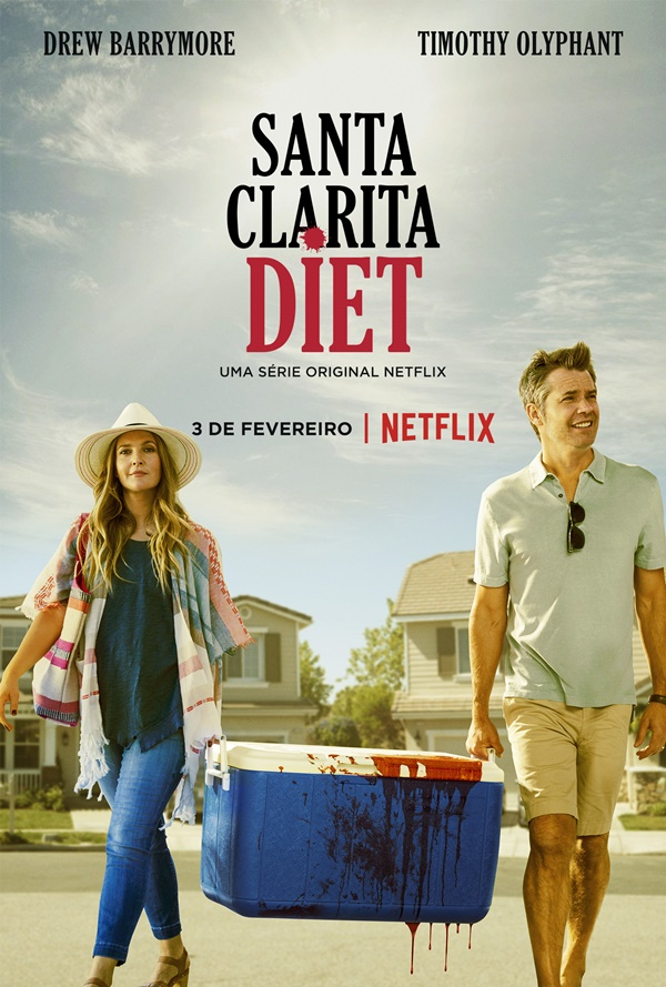 Santa Clarita Diet: Novo trailer explica o personagem de Drew Barrymore 1