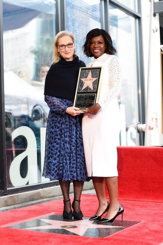 Viola Davis ganha estrela na calçada da fama 1