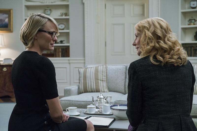 Patricia Clarkson e Campbell Scott entram para o elenco de House of Cards 2