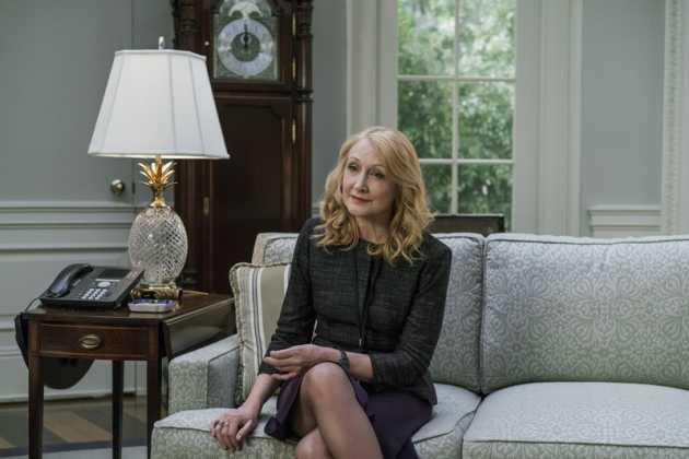 Patricia Clarkson e Campbell Scott entram para o elenco de House of Cards 3