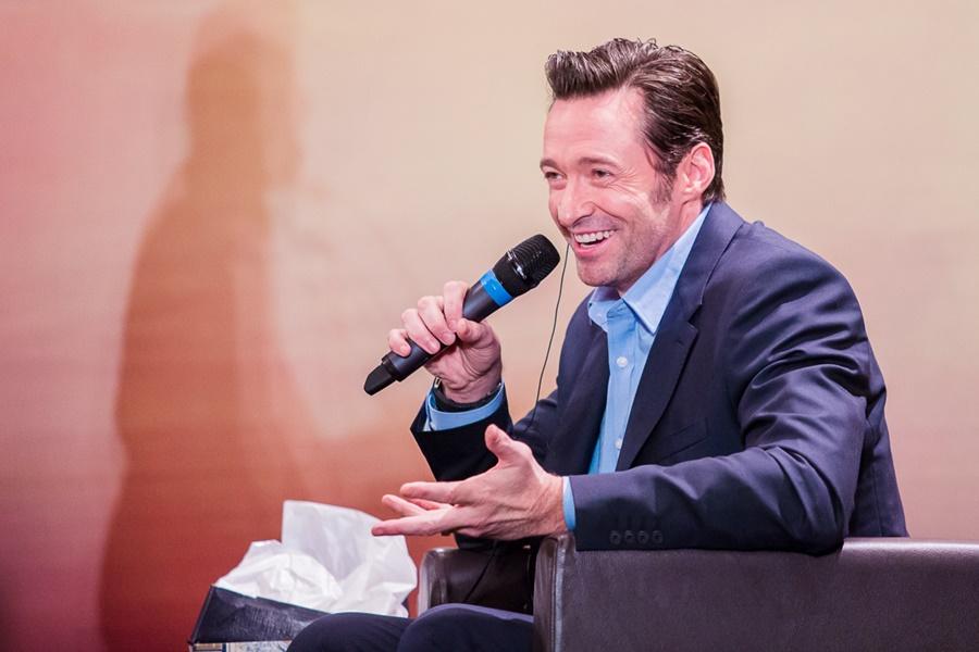 'Eu nunca vou deixar de ser o Logan'- Hugh Jackman fala sobre o filme em SP 1