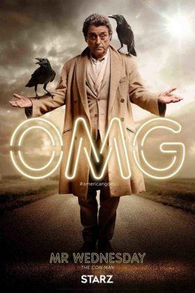 Deuses Americanos: Novos cartazes apresentam os personagens da série 1