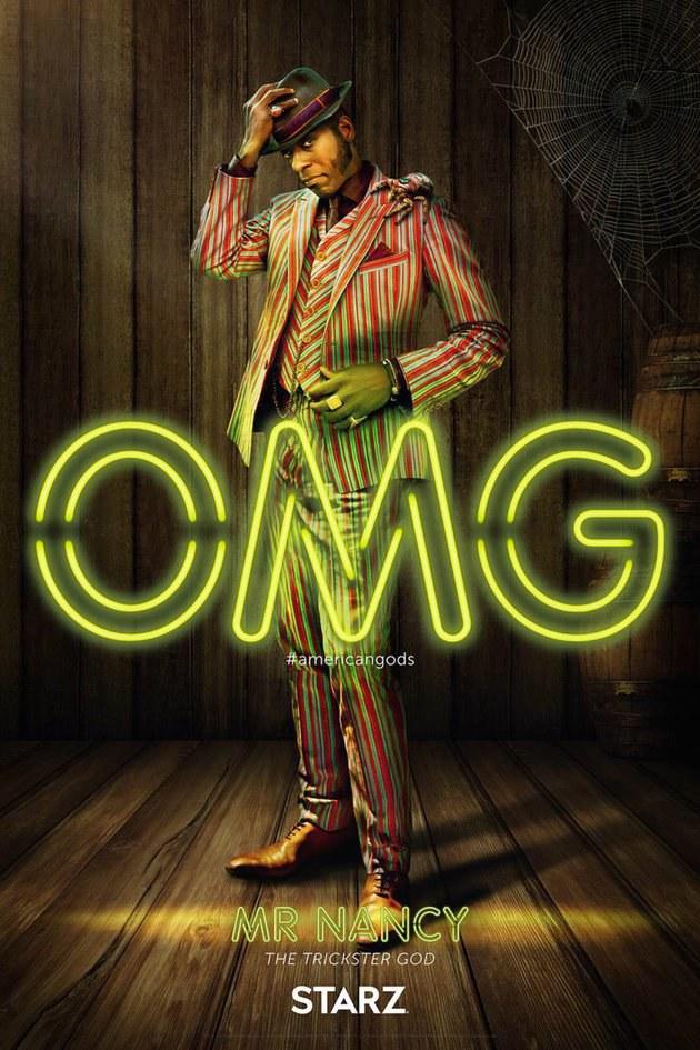 Deuses Americanos: Novos cartazes apresentam os personagens da série 4