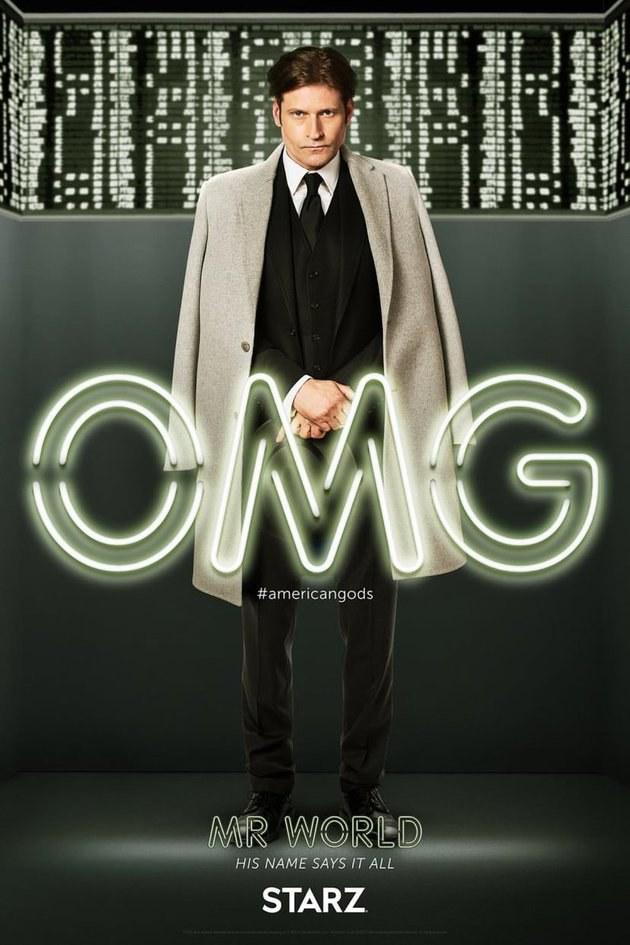 Deuses Americanos: Novos cartazes apresentam os personagens da série 9