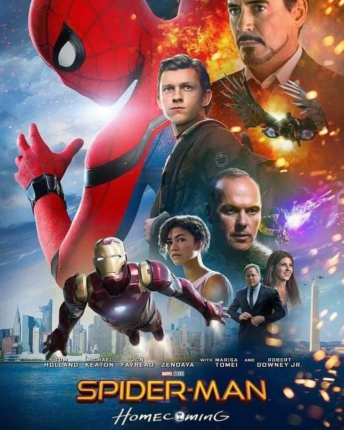 Novo pôster Homem-Aranha