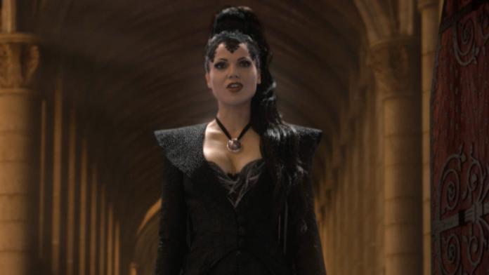 Cena do episódio musical de Once Upon a Time mostra Lana Parrila soltando a voz 1