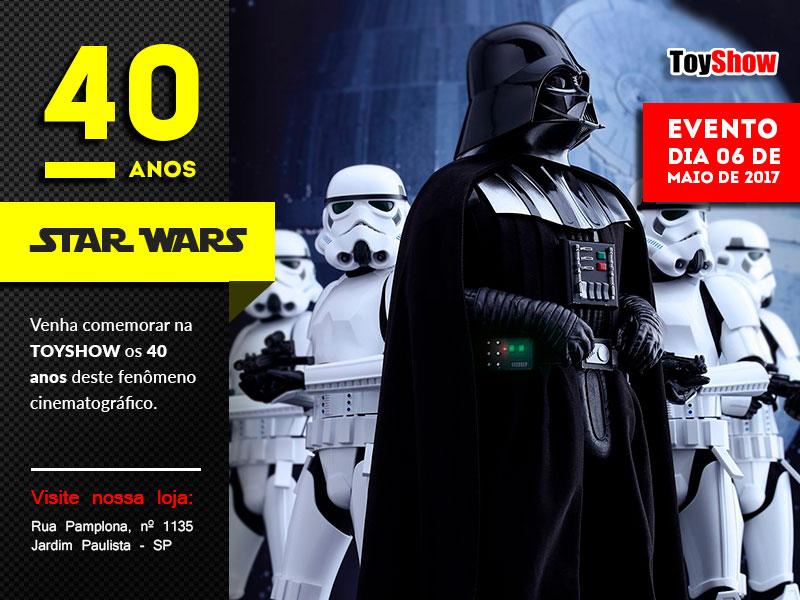 Star Wars: ToyShow promove evento para comemorar os 40 anos da franquia 1
