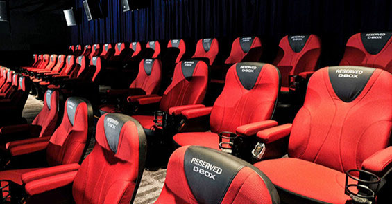 Cinemark inaugura salas com poltronas D-BOX no Tietê Plaza Shopping 1