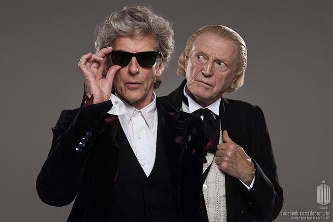 SDCC 2017: Trailer do especial de natal de Doctor Who une dois Doctors 1