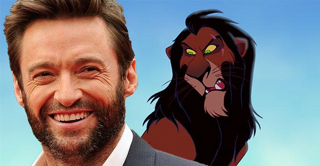 Hugh Jackman será o vilão no live- action de 'O Rei Leão' 1