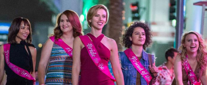Comédia 'A Noite é Delas!',com Scarlett Johansson, tem estreia cancelada no Brasil 1
