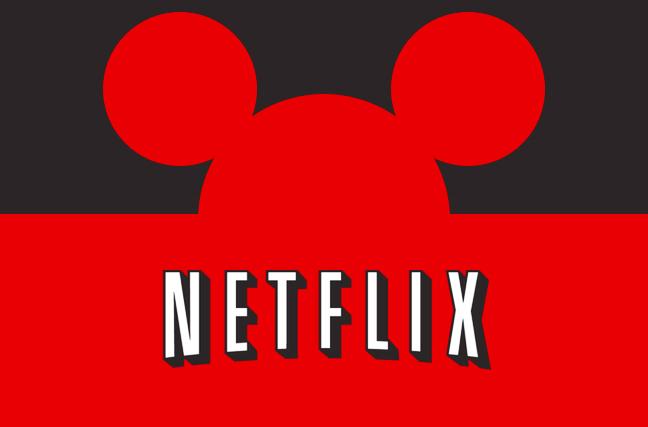 Disney irá remover suas produções do catálogo do Netflix 1