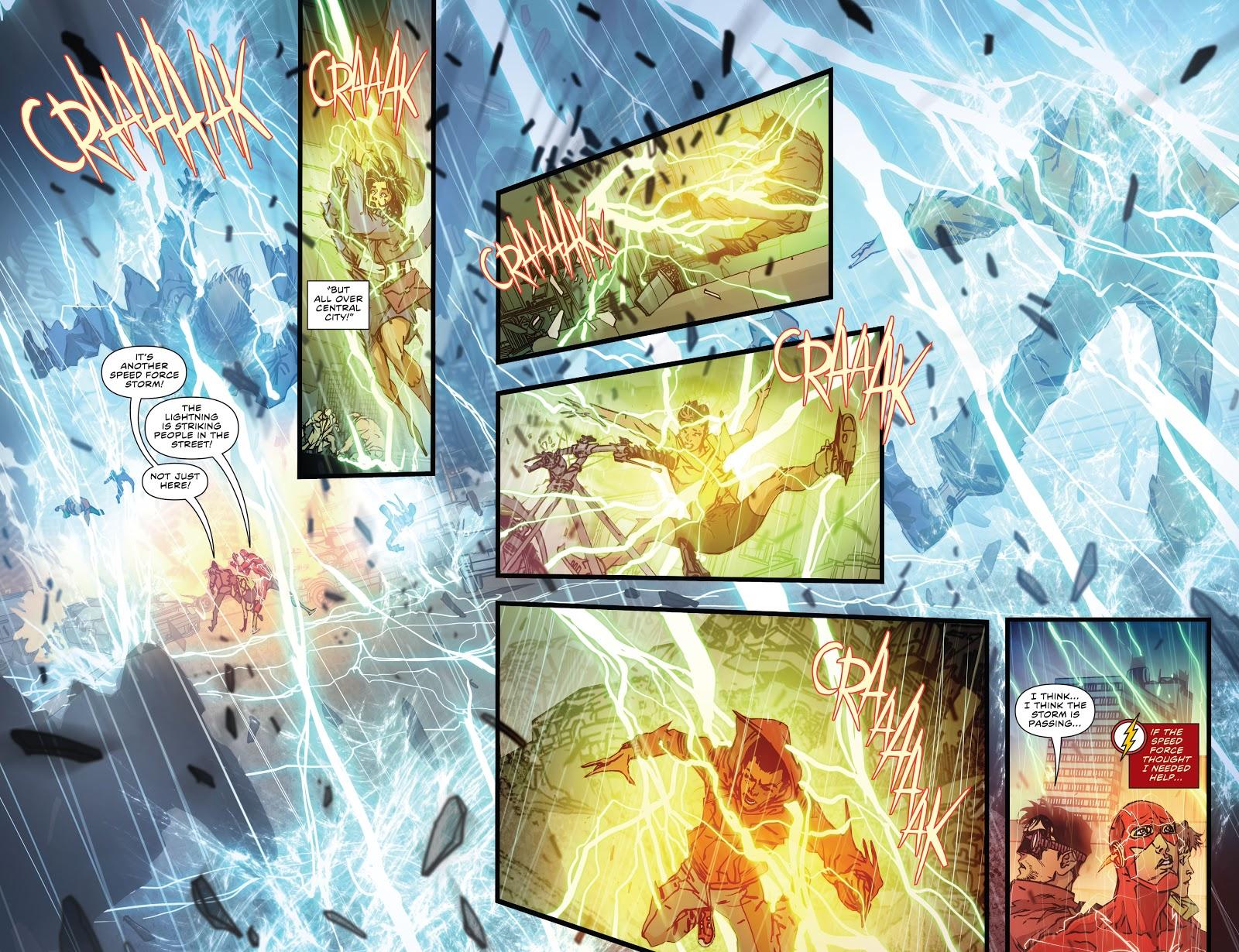 Resenha: Flash Renascimento- Vol 1 1