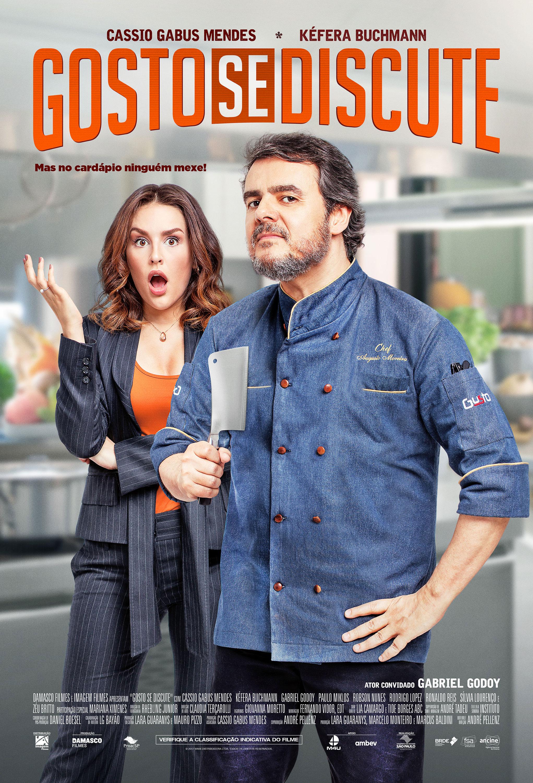 Cassio Gabus Mendes e Kéfera desafiam-se no trailer de 'Gosto se Discute' 1