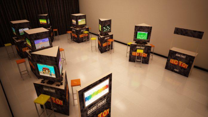 Tectoy promove experiência nostálgica e interativa com videogames clássicos 1