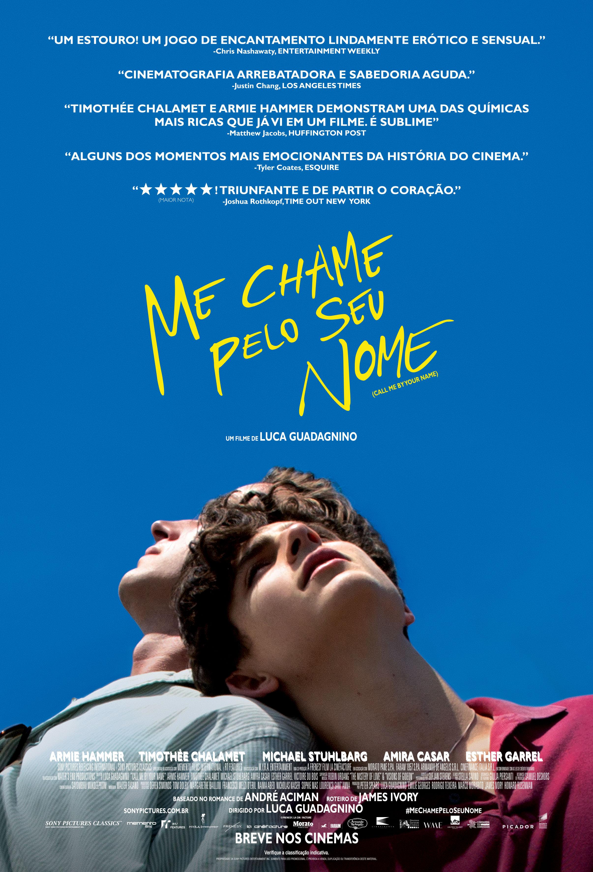 'Me Chame Pelo Seu Nome' ganha seu primeiro trailer legendado 1