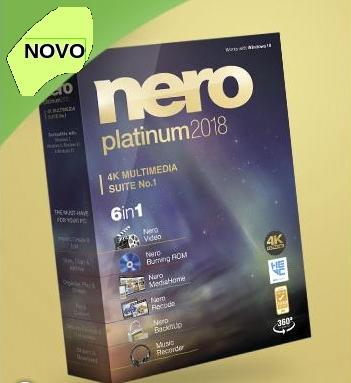 Nero Platinum 2018 é lançado mundialmente 1