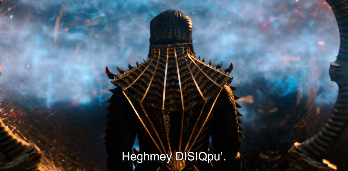 Netflix disponibiliza legenda em Klingon para 'Star Trek: Discovery' 1